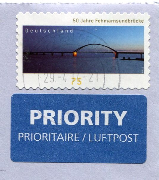 Germany - Sickle Bridge stamps