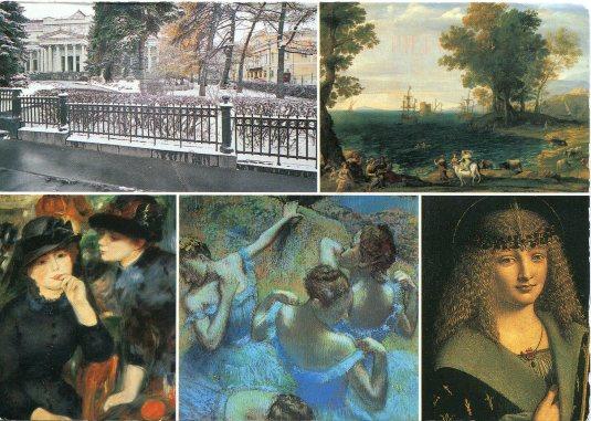 Russia - State Pushkin Museum of Fine Arts