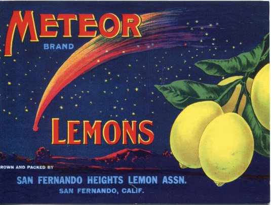 USA - Z - Lemon Label